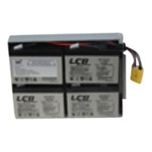 PCM | Battery Technology inc, Replacement Battery #24 for APC - UPS battery  - 1 x lead acid - for P/N: DLA1500RM2U, DLA1500RMI2U, SU1400R2IBX135,