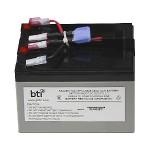 Replacement Battery #48 for APC - UPS battery - 1 x lead acid - for P/N: DLA750, DLA750I, SMT750, SMT750I, SMT750TW, SMT750US, SUA750, SUA750I, SUA750IX38