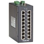 LEH1200 Series Class 1, Div 2 Hardened Managed Switch - 16-Port 10/100-Mbps