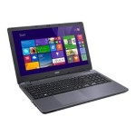 "Acer Aspire E5-571-38KJ - Core i3 4005U / 1.7 GHz - Win 7 Home Premium 64-bit - 4 GB RAM - 500 GB HDD - DVD SuperMulti - 15.6"" 1366 x 768 ( HD ) - HD Graphics 4400 - iron IMR NX.MLTAA.011"