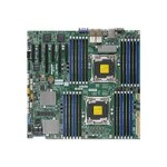 SUPERMICRO X10DRC-LN4+ - Motherboard - enhanced extended ATX - LGA2011-v3 Socket - 2 CPUs supported - C612 - USB 3.0 - 4 x Gigabit LAN - onboard graphics - for SC745 TQ-R920B; SC826 BE1C-R920LPB