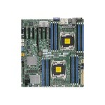 Super Micro SUPERMICRO X10DRH-C - Motherboard - extended ATX - LGA2011-v3 Socket - 2 CPUs supported - C612 - USB 3.0 - 2 x Gigabit LAN - onboard graphics - for SC732 i-865B; SC835 TQ-R920B MBD-X10DRH-C-O