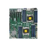 Super Micro SUPERMICRO X10DRI-T - Motherboard - extended ATX - LGA2011-v3 Socket - 2 CPUs supported - C612 - USB 3.0 - 2 x 10 Gigabit LAN - onboard graphics - for SC213; SC732; SC743; SC826; SC835; SC836; SC842; SC846 MBD-X10DRI-T-O