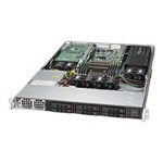 "Supermicro SuperServer 1018GR-T - Server - rack-mountable - 1U - 1-way - RAM 0 MB - SATA/SAS - hot-swap 2.5"" - no HDD - AST2400 - GigE - monitor: none"