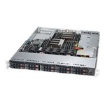 "Supermicro SuperServer 1028R-WC1R - Server - rack-mountable - 1U - 2-way - RAM 0 MB - SATA/SAS - hot-swap 2.5"" - no HDD - AST2400 - GigE - monitor: none"