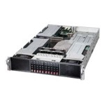 "Supermicro SuperServer 2028GR-TR - Server - rack-mountable - 2U - 2-way - RAM 0 MB - SATA - hot-swap 2.5"" - no HDD - AST2400 - GigE - no OS - monitor: none"