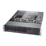 "Supermicro SuperServer 2028R-C1RT - Server - rack-mountable - 2U - 2-way - RAM 0 MB - SATA/SAS - hot-swap 2.5"" - no HDD - AST2400 - GigE, 10 GigE - monitor: none"