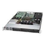 "Supermicro SuperServer 5018GR-T - Server - rack-mountable - 1U - 1-way - RAM 0 MB - SATA - hot-swap 3.5"" - no HDD - AST2400 - GigE - monitor: none"