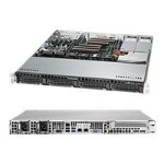 "Supermicro SuperServer 6018R-MTR - Server - rack-mountable - 1U - 2-way - RAM 0 MB - SATA - hot-swap 3.5"" - no HDD - AST2400 - GigE - monitor: none"
