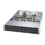 "Supermicro SuperServer 6028R-TDWNR - Server - rack-mountable - 2U - 2-way - RAM 0 MB - SATA - hot-swap 2.5"", 3.5"" - no HDD - AST2400 - GigE - no OS - monitor: none"