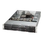 "Supermicro SuperServer 6028R-WTR - Server - rack-mountable - 2U - 2-way - RAM 0 MB - SATA/SAS - hot-swap 3.5"" - no HDD - AST2400 - GigE - monitor: none"