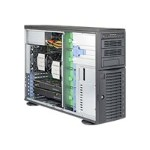 Supermicro SuperWorkstation 7048A-T - Tower - 4U - RAM 0 MB - no HDD - GigE - no OS - monitor: none