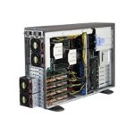 Supermicro SuperWorkstation 7048GR-TR - Tower - 4U - 2-way - RAM 0 MB - no HDD - AST2400 - GigE - no OS - monitor: none