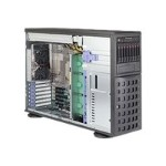 """Supermicro SuperServer 7048R-C1R4+ - Server - tower - 4U - 2-way - RAM 0 MB - SATA/SAS - hot-swap 2.5"""", 3.5"""" - no HDD - AST2400 - GigE - monitor: none"""