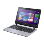 "Aspire E3-111-C0QT - Celeron N2940 / 1.83 GHz - Win 7 Home Premium 64-bit - 4 GB RAM - 500 GB HDD - 11.6"" 1366 x 768 (HD) - HD Graphics - silver"