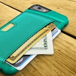 Q Card Case for iPhone 6s & 6s & 6 - Pacific Green