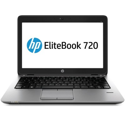 HP Smart Buy EliteBook 720 G1 Intel Core i3-4030U Dual-Core 1.90GHz Notebook PC - 4GB RAM, 500GB HDD, 12.5