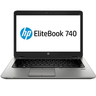 HP Smart Buy EliteBook 740 G1 Intel Core i3-4030U Dual-Core 1.90GHz Notebook PC - 4GB RAM, 500GB HDD, 14.0
