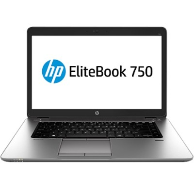 HP Smart Buy EliteBook 750 G1 Intel Core i5-4210U Dual-Core 1.70GHz Notebook PC - 4GB RAM, 180GB SSD, 15.6