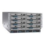 Cisco UCS 5108 Blade Server Chassis - Rack-mountable - 6U - up to 8 blades - no power supply UCSB-5108-AC2-CH