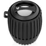 Bluetooth Water Resistant Rechargeable 3W Speaker - Black