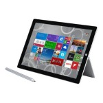 "Surface Pro 3 - Tablet - no keyboard - Core i5 4300U / 1.9 GHz - Win 8.1 Pro 64-bit - 8 GB RAM - 256 GB SSD - 12"" touchscreen 2160 x 1440 ( Full HD Plus ) - HD Graphics 4400 - Wi-Fi - silver"