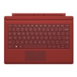 Microsoft Surface Pro Type Cover  - Red RF2-00004