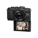 E-PL7 - Digital camera - mirrorless - 16.1 MP - Four Thirds - 1080p - 3x optical zoom M.Zuiko Digital 14-42mm II R lens - Wi-Fi - black