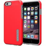 Incipio DualPro Case for iPhone 6s & 6 - Red / Charcoal IPH-1179-REDGRY