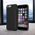 Stowaway Case for iPhone 6 - Black / Black
