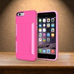 Stowaway Case for iPhone 6s & 6s & 6 - Pink / Light Pink