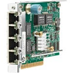 331FLR - Network adapter - PCIe 2.0 x4 - Gigabit Ethernet x 4 - for ProLiant DL20 Gen9, DL380 Gen9, DL560 Gen9, XL170r Gen9, XL190r Gen9, XL230a Gen9