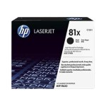 HP Inc. 81X High Yield Black Original LaserJet Toner Cartridge CF281X