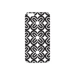 OTM Prints Series - Back cover for cell phone - white, black on white mirrors - for Apple iPhone 6