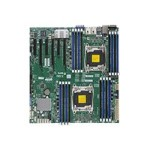 Super Micro SUPERMICRO X10DRi - Motherboard - extended ATX - LGA2011-v3 Socket - 2 CPUs supported - C612 - USB 3.0 - 2 x Gigabit LAN - onboard graphics MBD-X10DRI-B