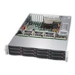 "Supermicro SuperStorage Server 5028R-E1CR12L - Server - rack-mountable - 2U - 1-way - RAM 0 MB - SAS - hot-swap 3.5"" - no HDD - AST2400 - GigE - no OS - monitor: none"