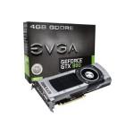 GeForce GTX 980 - Graphics card - GF GTX 980 - 4 GB GDDR5 - PCIe 3.0 x16 - DVI, HDMI, 3 x DisplayPort