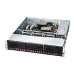 Supermicro SC216 BE1C-R920LPB - Rack-mountable - 2U - enhanced extended ATX - SATA/SAS - hot-swap 920 Watt - black