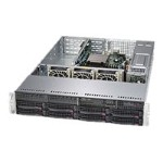 "Supermicro SuperServer 5028R-WR - Server - rack-mountable - 2U - 1-way - RAM 0 MB - SATA - hot-swap 3.5"" - no HDD - AST2400 - GigE - monitor: none"