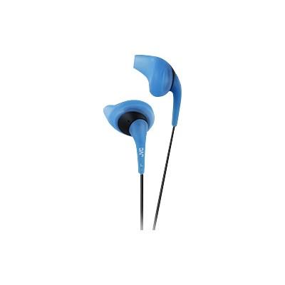 JVCGumy Sport Binaural Ear Bud Headphones - Blue(HAEN10A)
