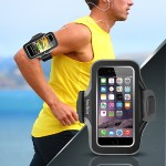 Slim-Fit Plus Armband Case for iPhone 6 - Black
