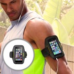 Sport-Fit Armband for Apple iPhone 6 - Blacktop/Limelight