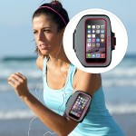 Sport-Fit Plus Armband for iPhone 6 - SideWalk/Fuchsia