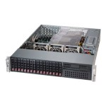 Supermicro SC213 AC-R920LPB - Rack-mountable - 2U - enhanced extended ATX - SATA/SAS - hot-swap 920 Watt - black