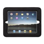 CinemaSeat - Back cover for tablet - black - for Apple iPad 2