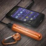 Pebble Smartstick+ 2800mAh Portable Battery for iPhone & Smartphones - Orange