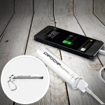 Veho Pebble Smartstick+ 2800mAh Portable Battery for iPhone & Smartphones - Silver VPP004PS