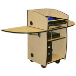 Mobilite Lectern with Viewport
