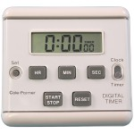 AmpliVox Sound Systems Clip-On Clock Timer S1321
