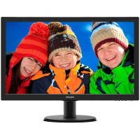 "Philips 21.5"" LCD Monitor with SmartControl Lite 223V5LSB"